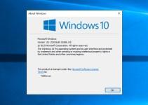 Cara Mengetahui Windows 10 Build Yang Kamu Gunakan