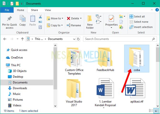 File yang akan diarsipkan
