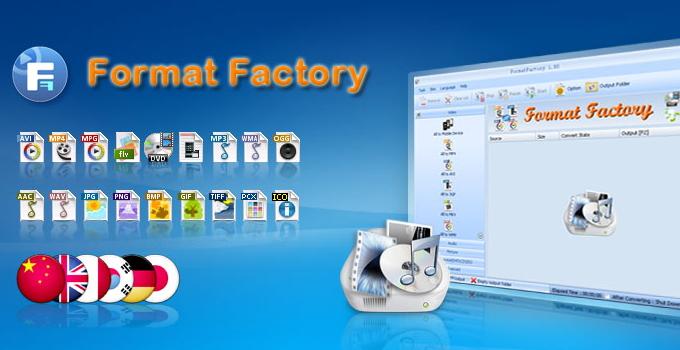 cara menggunakan format factory