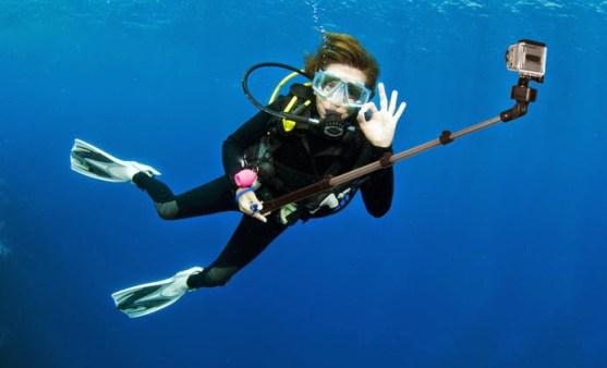 Maksimalkan pengambilan video underwater