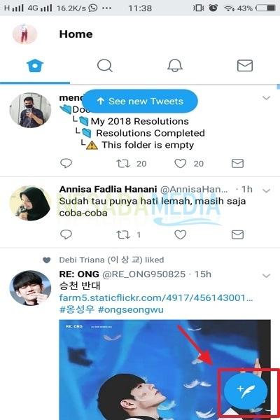 2-buat tweet