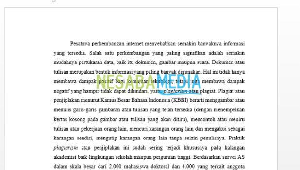How to Make Berkolom Writing in Microsoft Word