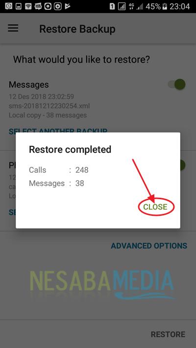 cara backup data android tanpa root