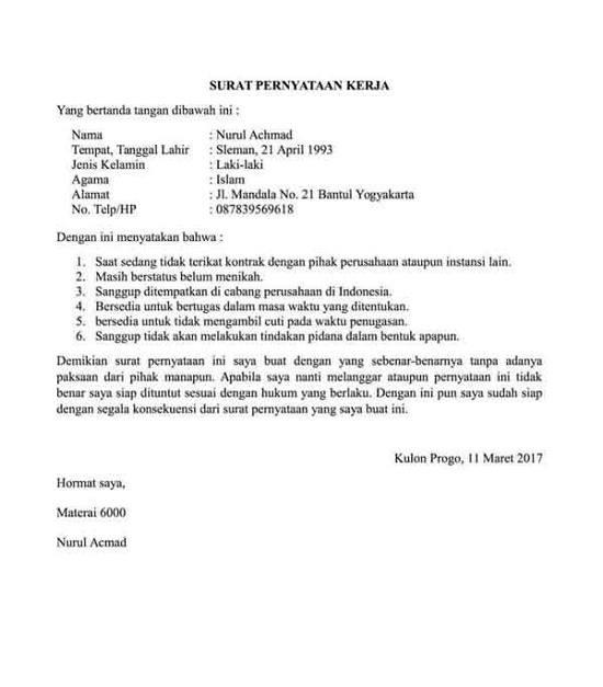 23+ Contoh surat pernyataan orang tua tentang kebenaran data siswa terbaru terbaru