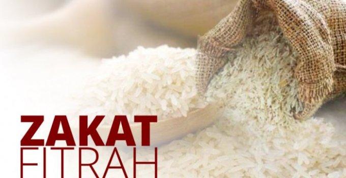 Doa Zakat Fitrah Dan Lafaz Niat Zakat Fitrah