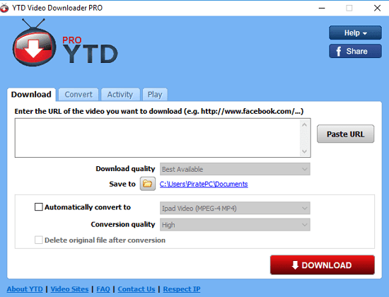 Download YTD Video Downloader Terbaru