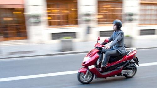 illustration of motorbike experience