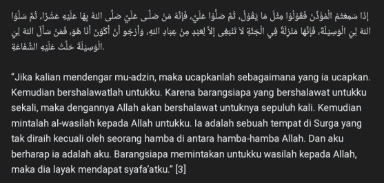 Doa dan Adab Memasuki Masjid