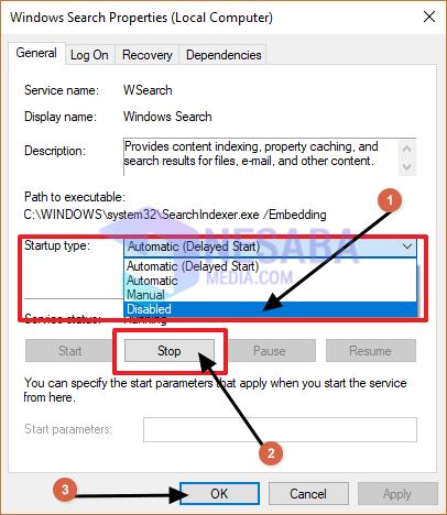 tutorial cara mengatasi cpu usage 100% di windows 10