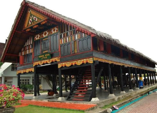 Aceh Krong Bade Traditional House