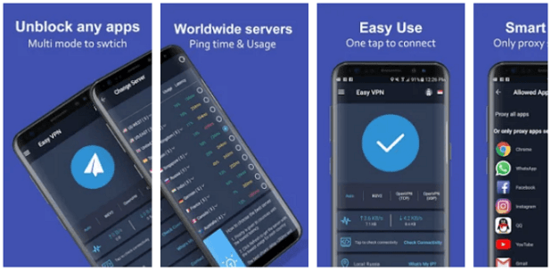 Best Android VPN Application - Easy VPN