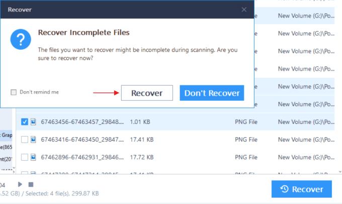 INGAT! Tunggu proses scanning file