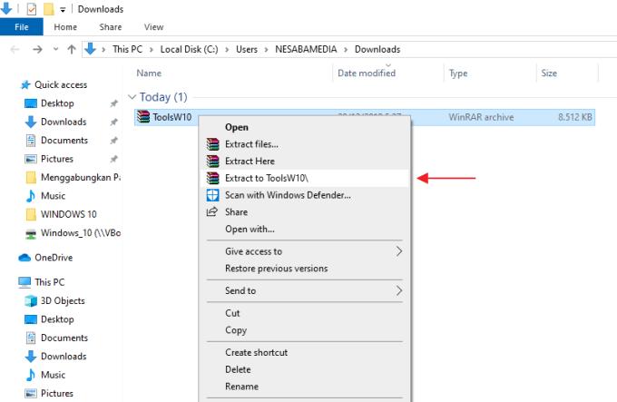 Aktivasi Windows 10 step 3
