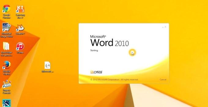 Cara Install Microsoft Office 2010