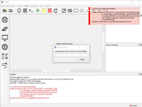 Download GNS3 Terbaru