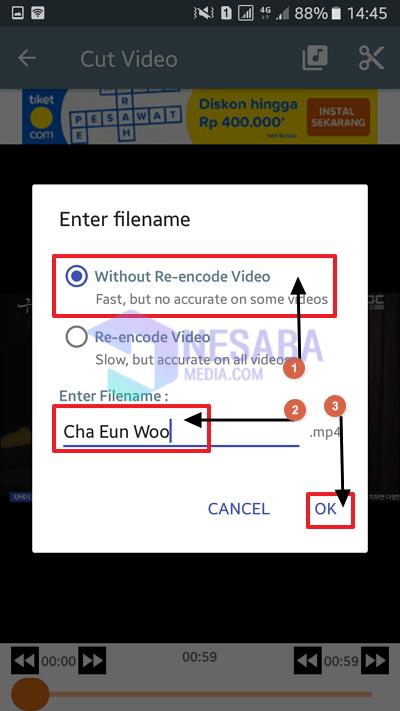cara memotong video di Instagram untuk pemula