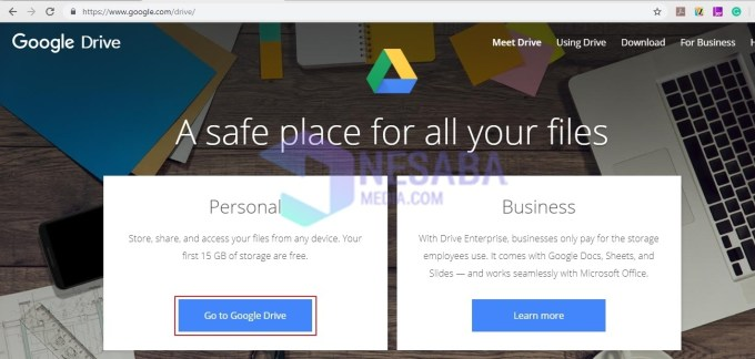 Cara Download File di Google Drive Lewat Laptop