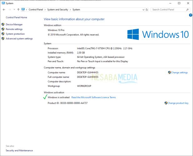 Windows 10-11 activation step