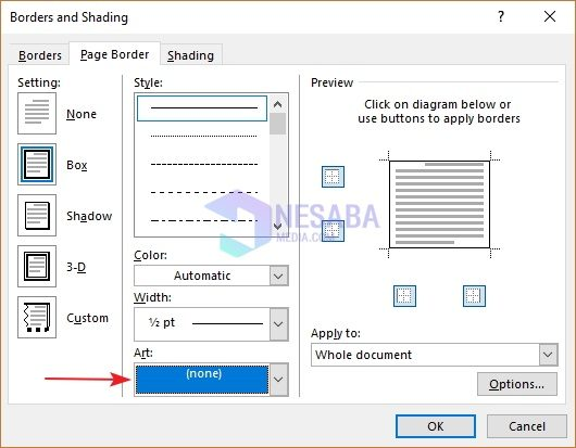 how to make a complete frame in Word and pictures