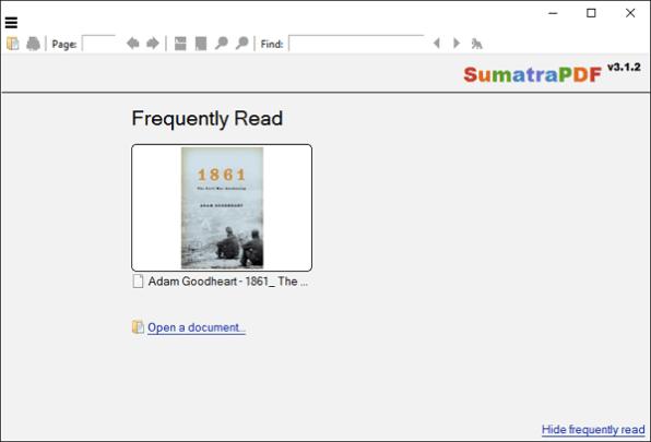 PDF Reader (Sumatra PDF)