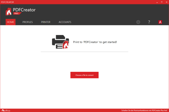 Download the Latest PDFCreator