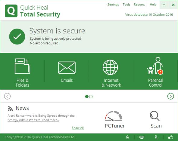 Download Quick Heal Total Security