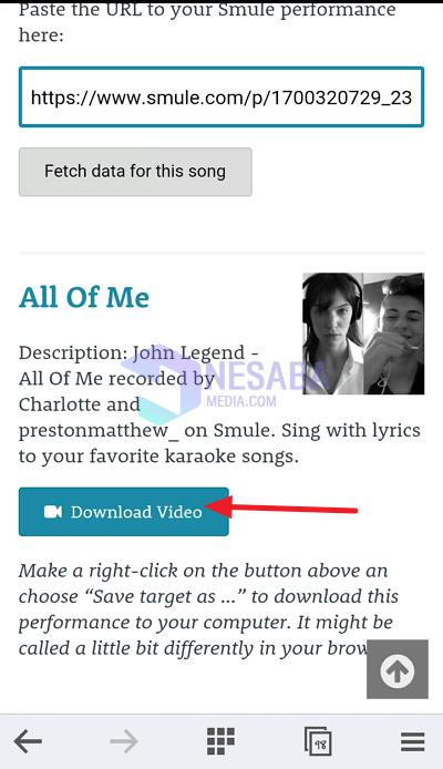 tutorial cara download rekaman smule