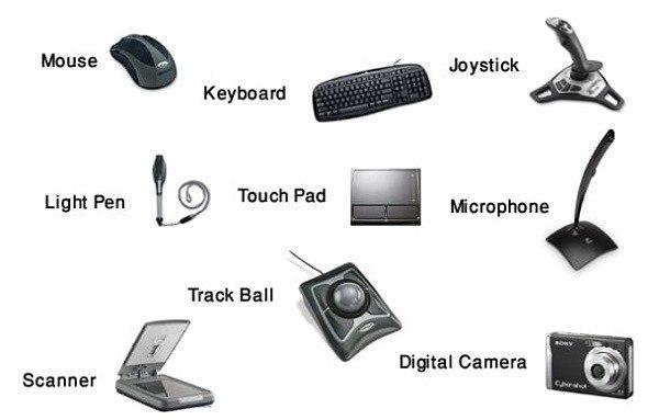 Struktur Sistem Komputer - input device