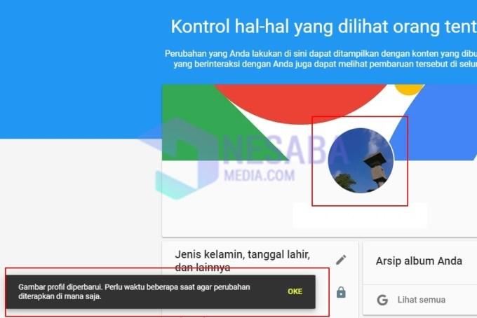 2 Cara Mengganti Foto Profil Gmail Tanpa Ribet Terbaru 2021
