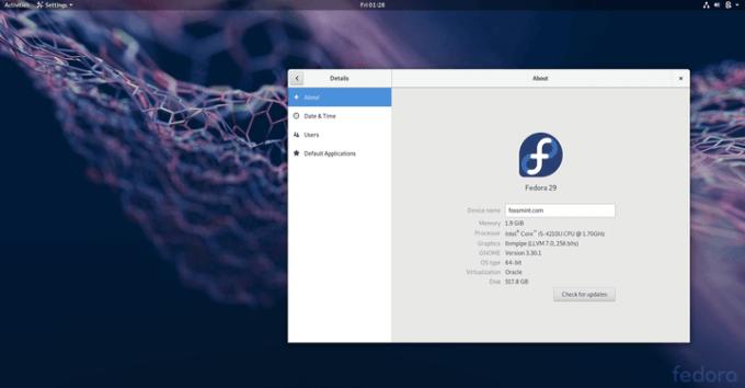 Distro Linux Terbaik - Fedora