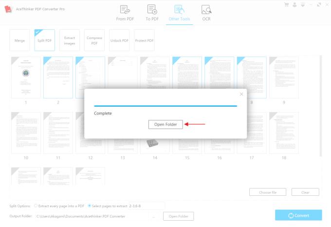 Memisahkan File PDF 3