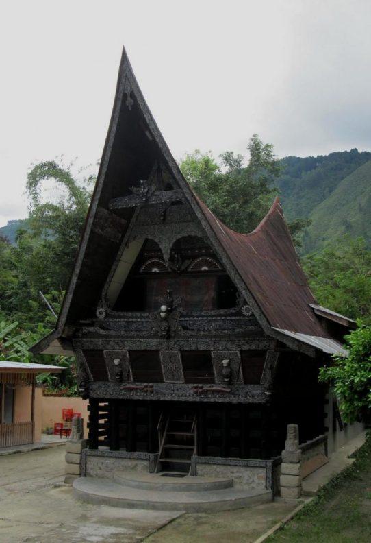 Rumah Adat Palembang Padu Kingking