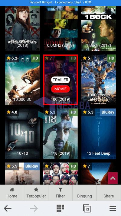 Cara Mendownload Film : mendownload, Download, Android, Tanpa, Aplikasi, (100%, Gratis)