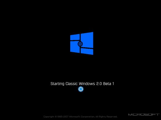 Perkembangan Windows 2.0