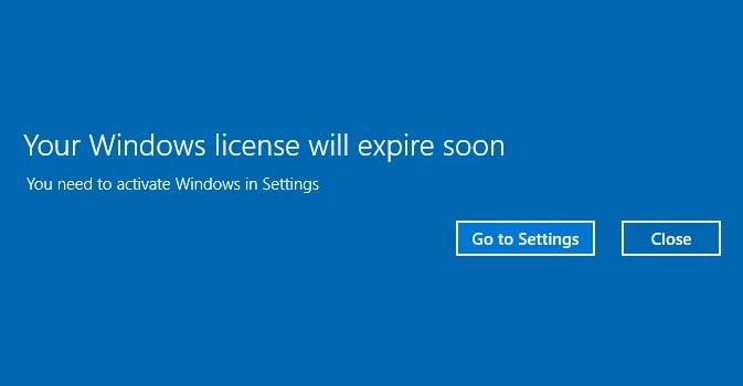 cara mengatasi windows licence will expire soon