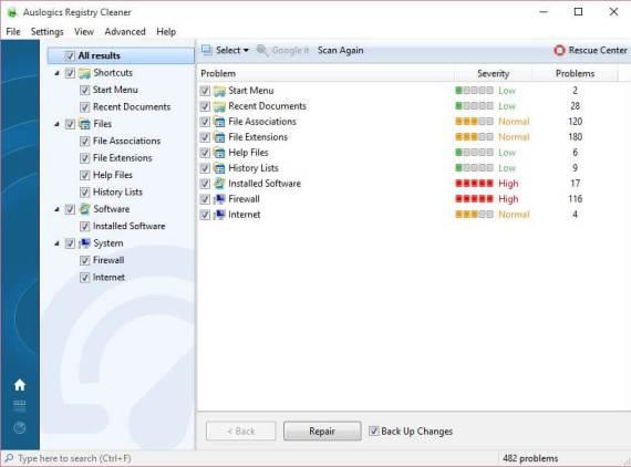 Download Auslogics Registry Cleaner