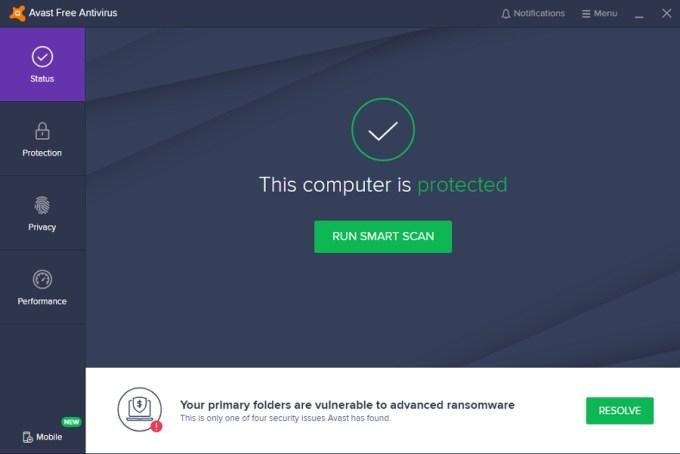 Avast Free Antivirus - Aplikasi Antivirus untuk PC / Laptop