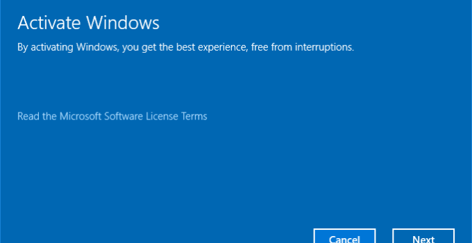 Cara Menghilangkan Pesan Activate Windows
