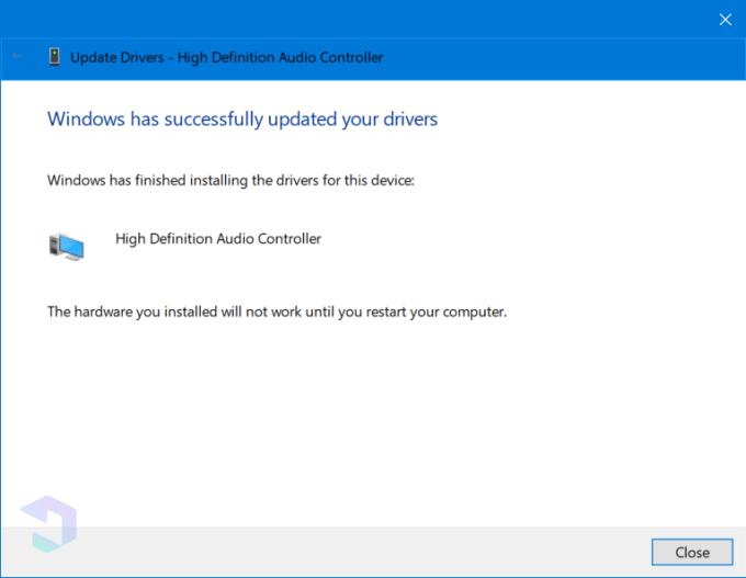 Langkah B - Cara Mengatasi No Audio Output Device Is Installed 7