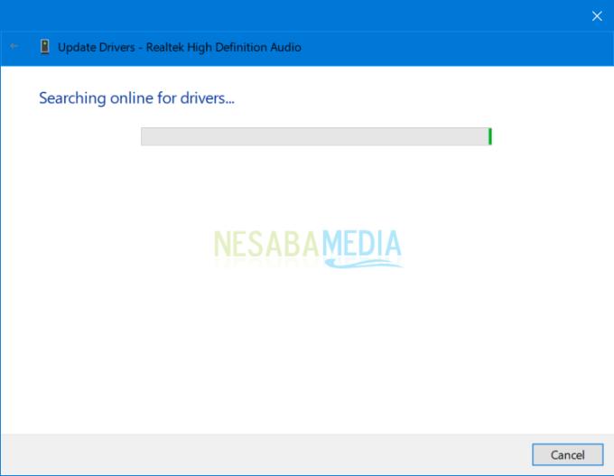 windows audio tidak bisa di start