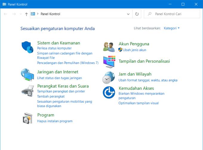 Mengganti Bahasa di Windows 7