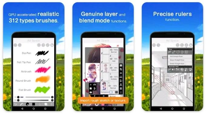 Aplikasi Menggambar untuk Android Ibis Paint X