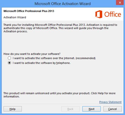 Cara Mengatasi Microsoft Office Activation Wizard