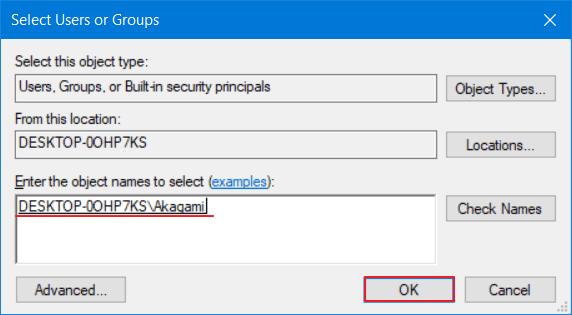 mengatasi windows cannot access 6