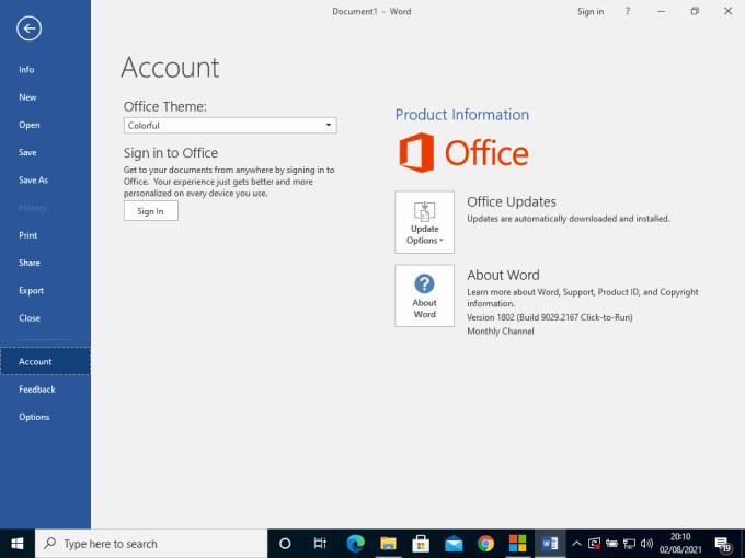 Cara Aktivasi Microsoft Office 2016 Terbaru