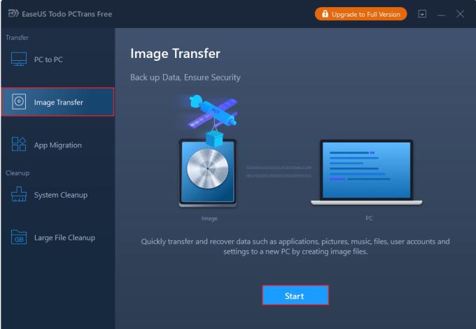pilih Image Transfer