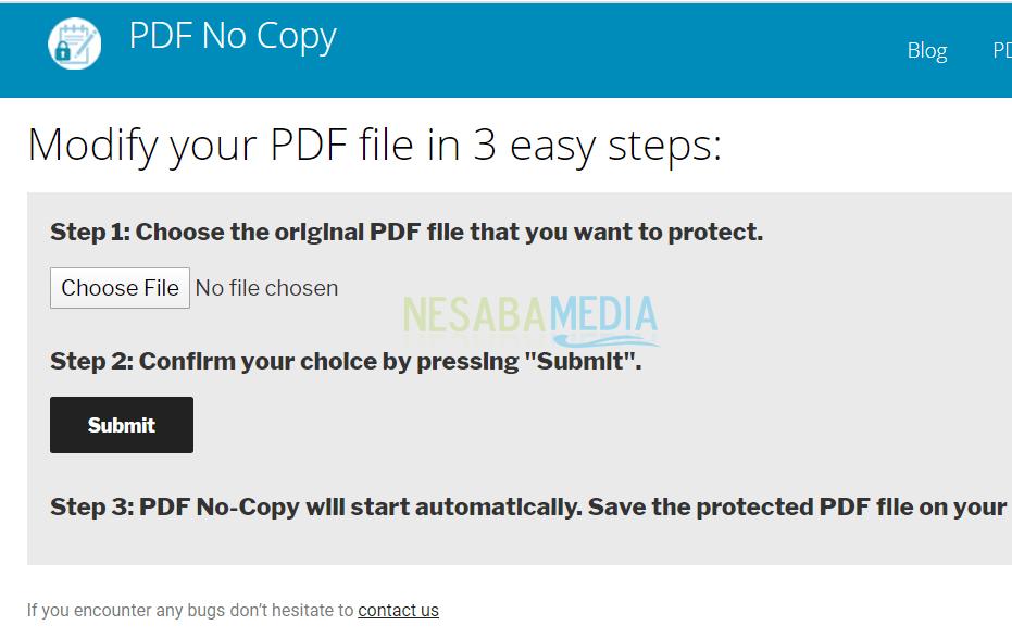 Mengunci PDF Agar Tidak Bisa Dicopy 2