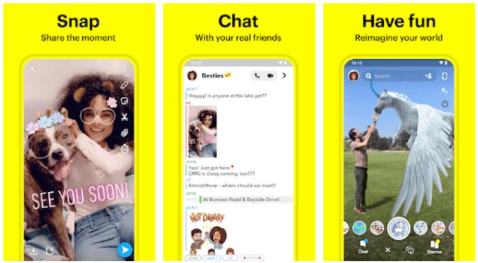 Download Snapchat APK terbaru