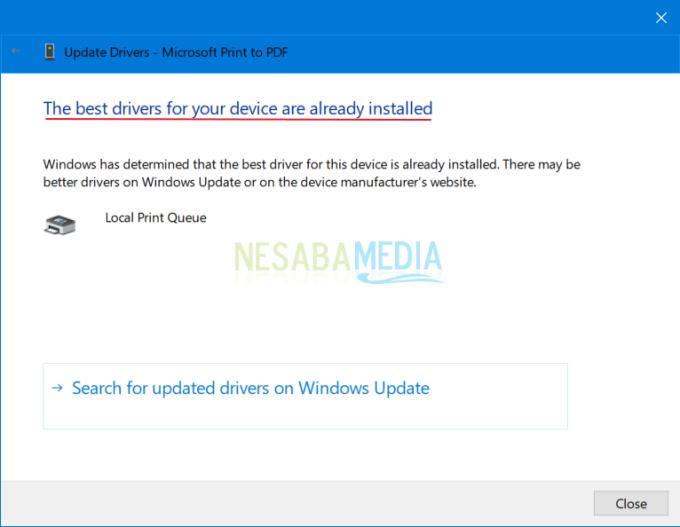 Mengatasi Printer in an Error State di Windows 6