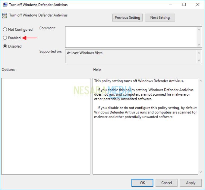 Mengatasi Windows Defender Tidak Bisa Dimatikan 9